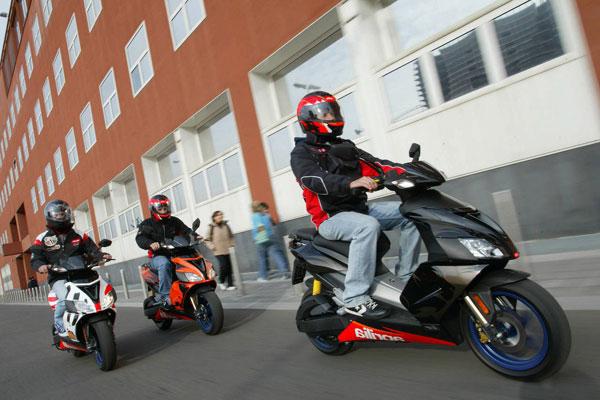 Водительские права для управления скутером. Необходим ли новый закон?