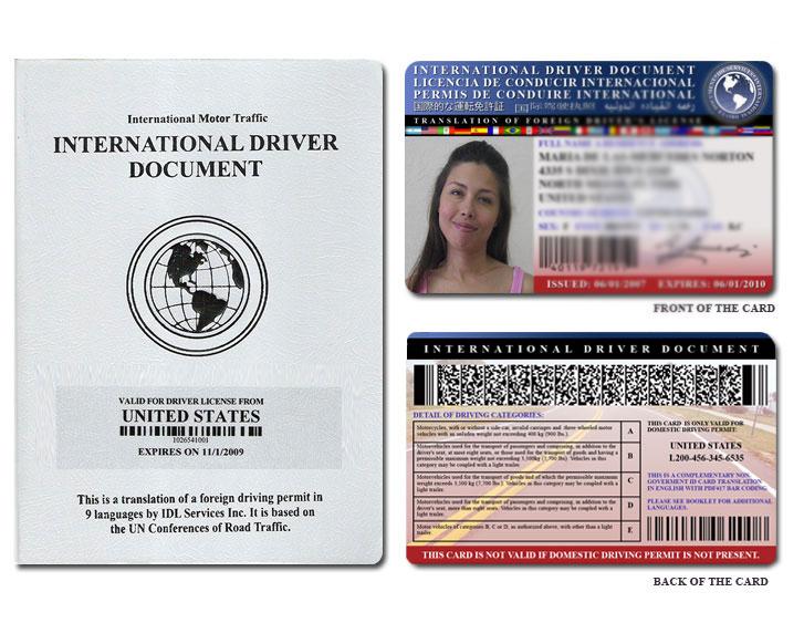 Как получить международные водительские права в России?