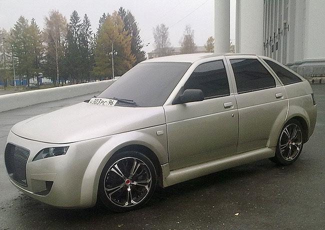 Обвесы на «ВАЗ — 2112»: тюнинг, способный индивидуализировать авто