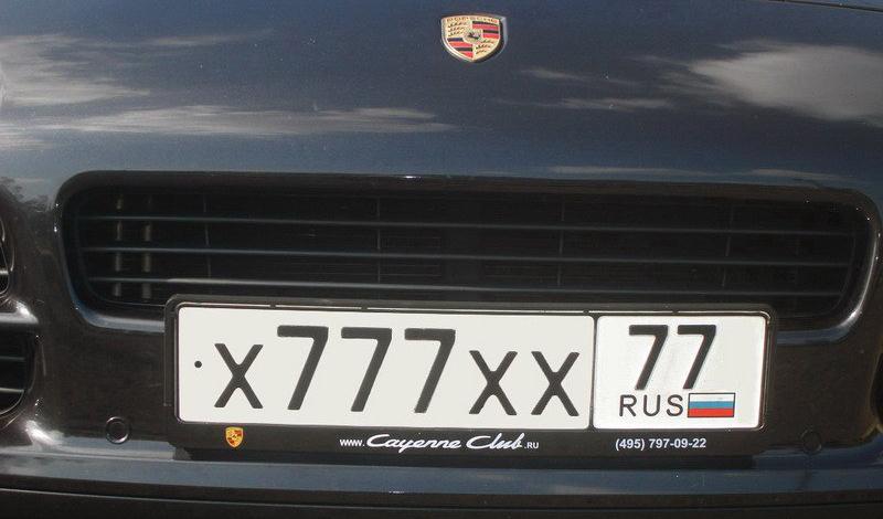 Красивые номера как элемент тюнинга автомобиля