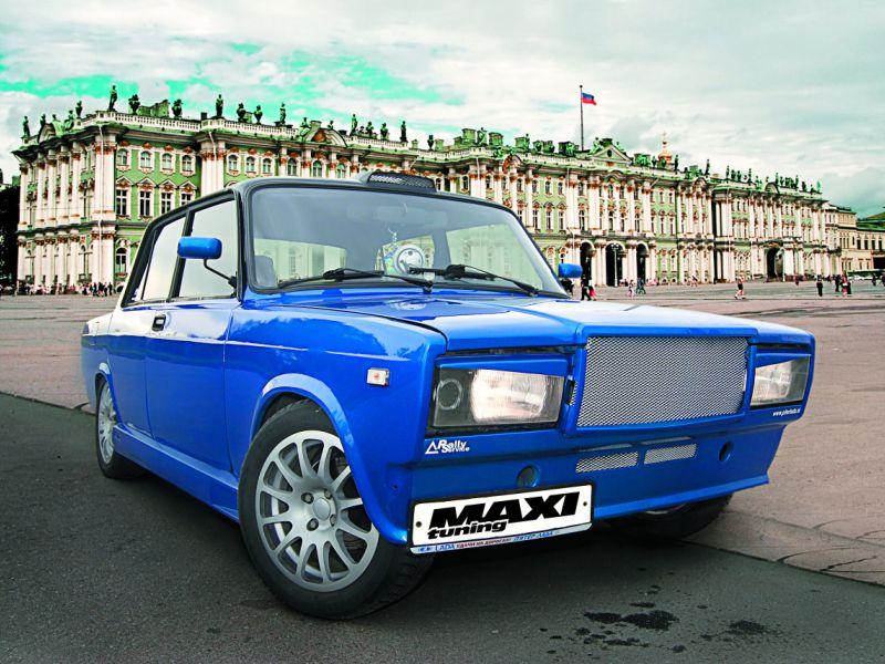 Тюнинг автомобиля ВАЗ 2107 своими руками