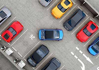 Поиск парковки