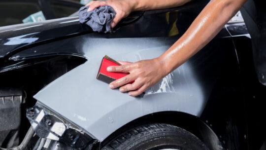 Предпокрасочная подготовка автомобиля