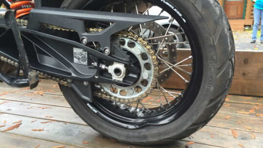 Ремонт обода мотоцикла