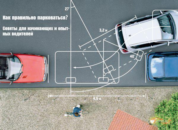 Советы для опытных и начинающих водителей по правильной парковке