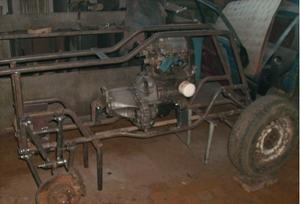 Квадроцикл 4х4 на базе ОКИ 6