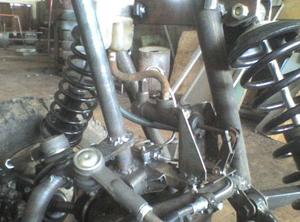 Рулевая и тормозная системы передних колес