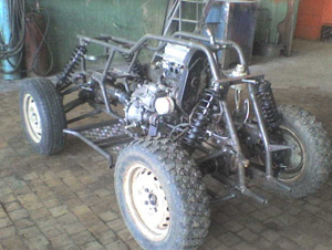 Тормозная система самодельного квадроцикла