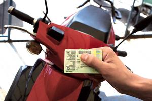 Водительское удостоверение для владельцев скутеров