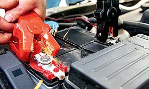 Заряд аккумулятора от другого автомобиля