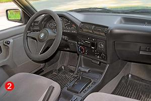 Салон от автомобиля  BMW