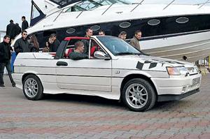 ВАЗ 2108 кабриолет
