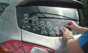 Наклейки на заднее стекло машины