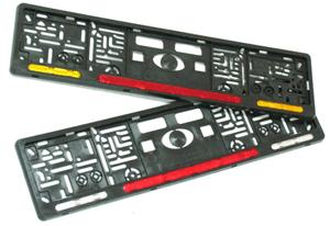 Комбинированные рамки на номера автомобиля